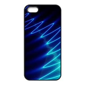 Bright Blue Wave Hot Seller Stylish Hard Case For Iphone 5s
