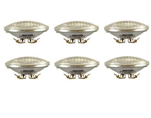 VSTAR LED PAR36 Bulb 6W 12V 650-750lm(35W Halogen Equivalent),3000K Warm White,Water Resistant,Non-dimmable,6 Pack [並行輸入品] B07RBX9MM5