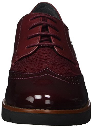 Jana Damen 23702 Oxfords Rot (bordeaux)