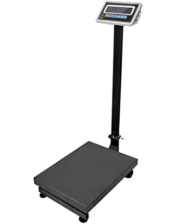 Cablematic - Balanza Industrial de Plataforma 35x45cm báscula 200Kg