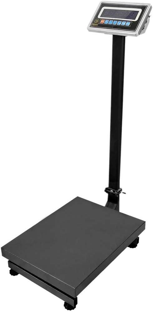 PrimeMatik - Balanza Industrial de Plataforma 35x45cm báscula 200Kg