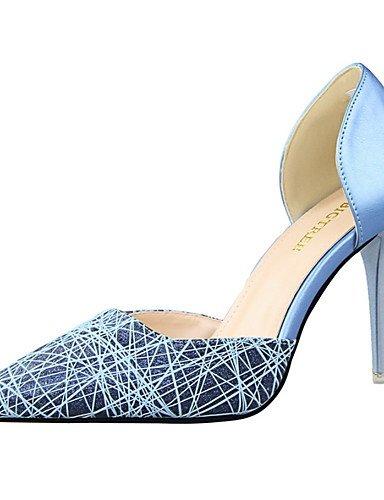 oren-us5.5   eu36   uk3.5   cn35  Ggx femme Chaussures Confort Bout Pointu Bout fermé talons décontracté Stiletto Talon Othersnoir bleu rose blanc