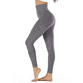 TwoCC Womens Yoga Pants High Waist Stretch Pants – Power Stretch Workout Tights Running Leggings
