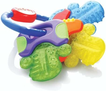 Nuby IcyBite Keys Teether -  BPA Free