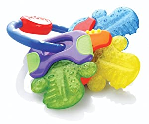 Nuby IcyBite Keys Teether -  BPA Free