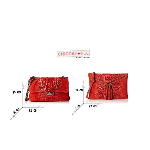 In Bundle Chicca Made Italy Rouge Borse En Sacs Cuir MOwwYH4q