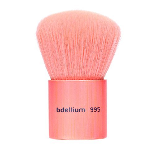 Bdellium Tools Professional Makeup Brush Pink Bambu Series Kabuki by Bdellium Tools