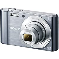 Sony Cyber-Shot DSCW810 20.1MP Digital Camera (Certified Refurbished)
