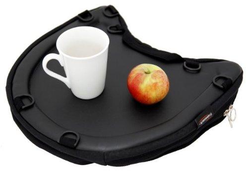 Trabasack Curve - Trabasack Curve Black Lap Tray Bag & Bean Bag Cushion