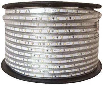 Silver Electronics Bobina de tira de LED de 50 metros. Corte cada centímetro. Resistente al Agua: Ip65 Temperatura de color: Luz Blanca Fria 6500k. Número de leds por metro 60led.