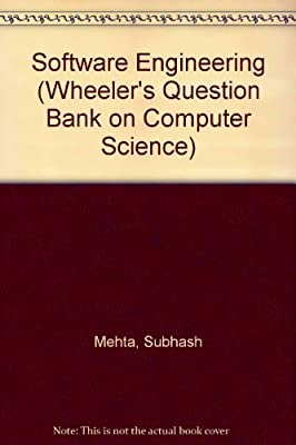 Software Engineering (Wheeler's Question Bank on Computer Science