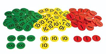 Image result for place value counters 21
