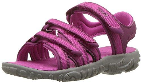 Teva Girls' T Tirra Sport Sandal, Raspberry Rose, 10 M US Toddler - Raspberry Shoe Sport