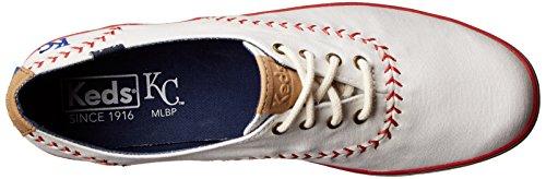 Keds Kvinders Mester Mlb Vimpel Baseball Mode Sneaker Kansas City Royals 214PbSd