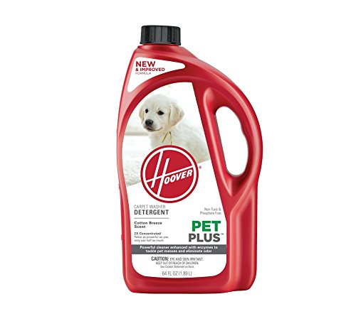 Hoover PETPLUS 2X Concentrated, 64oz Pet Stain and Odor Remover, AH30320 (64 Oz Septic Cleaner)