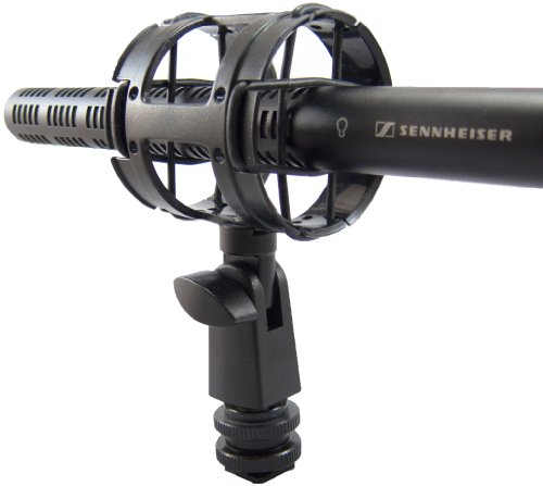 - Campro Deluxe Microphone Shockmount With Hotshoe ,1/4-20,3/8 ,5/8 Connectors Included ,Perfect for Zoom H1 , Senheisser ME66 ,Rode NTG-2,NTG-1 ,Audio-Technica AT-875R and many more
