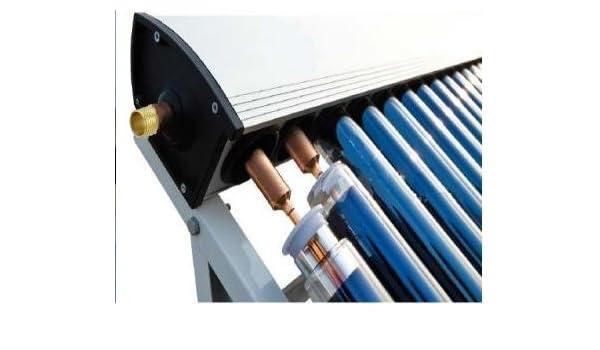 25 Tubo Premium Solar térmica agua calefacción, tubo de vacío 1800 mm x 58 mm de diámetro 24 mm condensor: Amazon.es: Bricolaje y herramientas