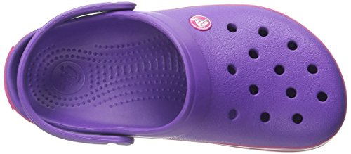 Crocband Mixte neon Violet Adulte Pink Crocs Purple candy Sabots Tp4wO