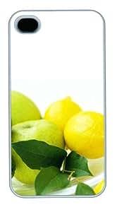 iphone 4 sparkle case Lemon PC White for Apple iPhone 4/4S