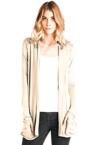 Cream Cardigan Sweater - 8
