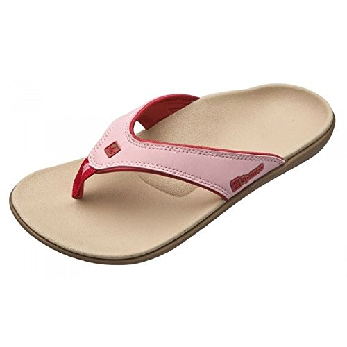 Spenco Total Support Womens Yumi Orthotic Arch Sandals | Toe-Post Thong Style Pink scPy8j