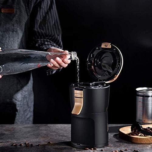 PXX Entièrement Automatique 600W Machine À Café Maker Grinder Portable Maison Petit Moulin À Grain de Café En Poudre Thé Goutte À Goutte À Café Noir 200Ml