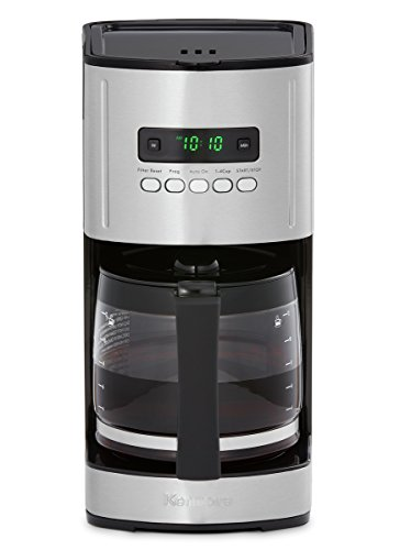 Kenmore 40704 12 Cup Programmable Coffee Maker in Black