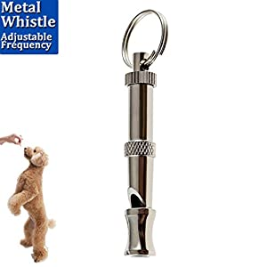 Amazon.com : Luniquz Metal Dog Whistle Adjustable High