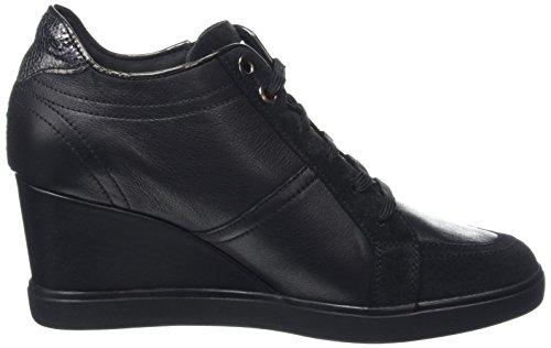 Geox D Eleni D, Zapatillas para Mujer Schwarz (Blackc9999)