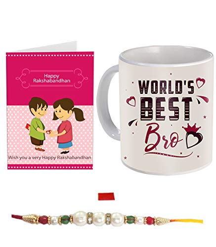 SKYTRENDS No Matter How Far We Are The Loving Day for Brother and Sister Rakhi Coaster (Multicolour) Price & Reviews
