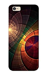 Eatcooment Scratch-free Phone Case For Iphone 6 Plus- Retail Packaging - Colorful Rings Kimberly Kurzendoerfer