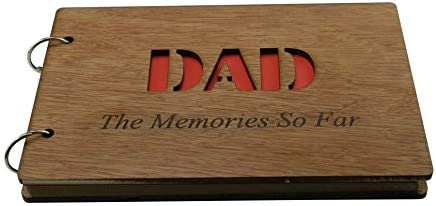 Fathersday or Birthday Gifts Scrapbook Photo album or Notebook Idea For DAD DAD The Memories So Far