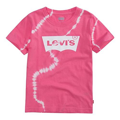 (Levi's Big Boys' Classic Batwing T-Shirt, Camellia Rose, L)