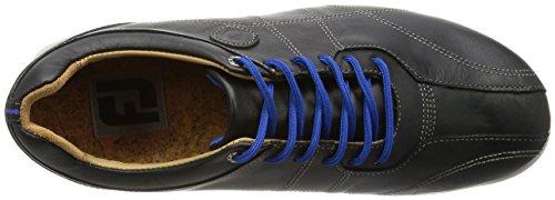 Footjoy Mens Versaluxe Golf Shoe Ampio Bagaglio Nero