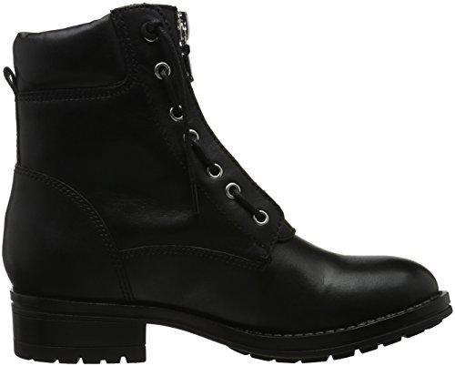 Aldo Isaaca, Botas Militar para Mujer Negro (Black Leather/97)
