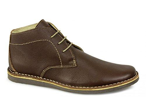 Desert Gravado Mens Ikon NOMAD Eyelet 10 UK Boots Brown 3 wqwfXR