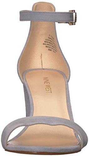Neun Knöchelriemen mit hellblauem aus Wildleder West Pruce Sandalen Damen XpaXxzr