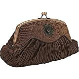 Carlo Fellini – Kimberly Evening Bag (61 8804) (Brown), Bags Central