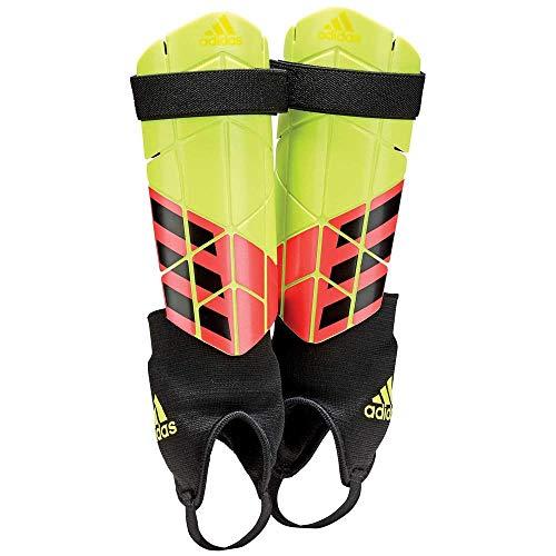 adidas Unisex's X Reflex Shin Guards, Yellow/Solar Red/Black, Medium