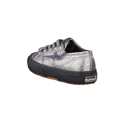 Superga Damen 2750 Lamew Sneakers Grey-Black