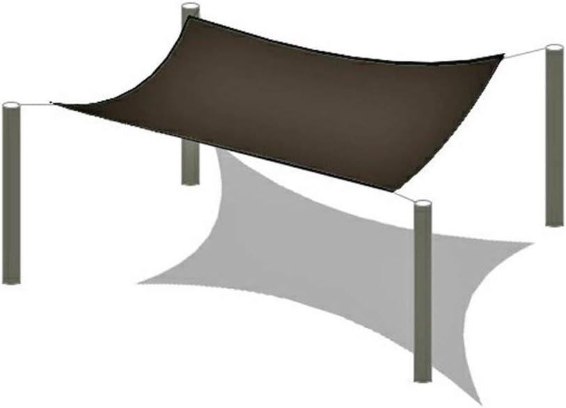 Protettiva dal Sole Balcone Protettiva dal Sole con Anelli per Giardino Cortili Terrazze Balcone DUCCM 95/% Viaggi Teli Parasole Panno Tenda Parasole Vela Ombreggiante