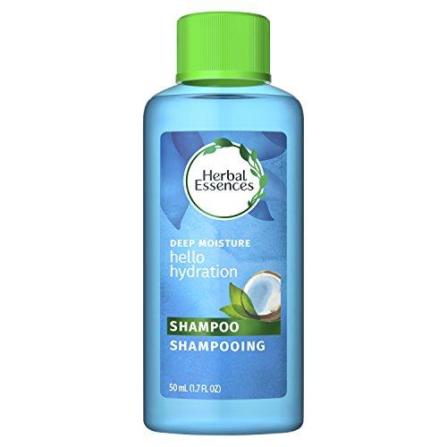Herbal Essences Hello Hydration Moisturizing Shampoo with Coconut Essences, 1.7 fl oz (Packaging May Vary)