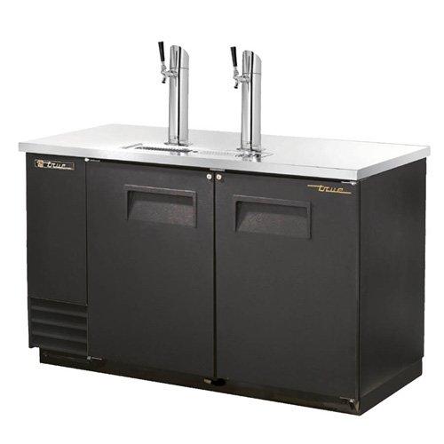 True TDD-2 Direct Draw Beer Dispenser - Two Door, Two Keg Capacity, 59