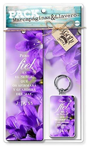 Amazon.com : Paquete Marcapaginas & Llavero Biblicos (Gift ...