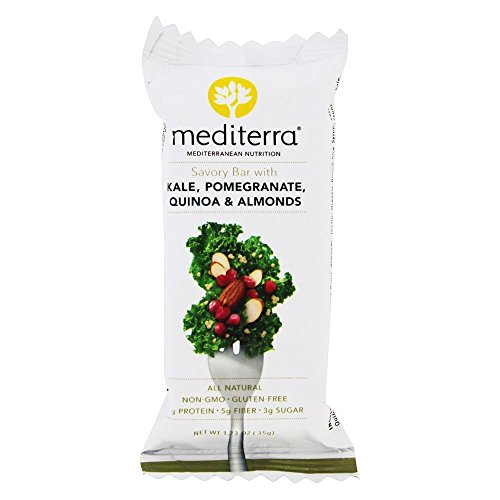 Mediterra - Gluten Free Savory Bar Kale, Pomegranate, Quiona & Almonds - 1.23 oz.