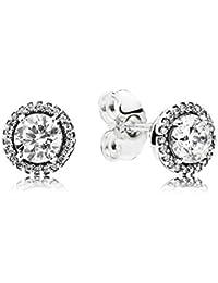 Pandora Women Silver Stud Earrings - 296374