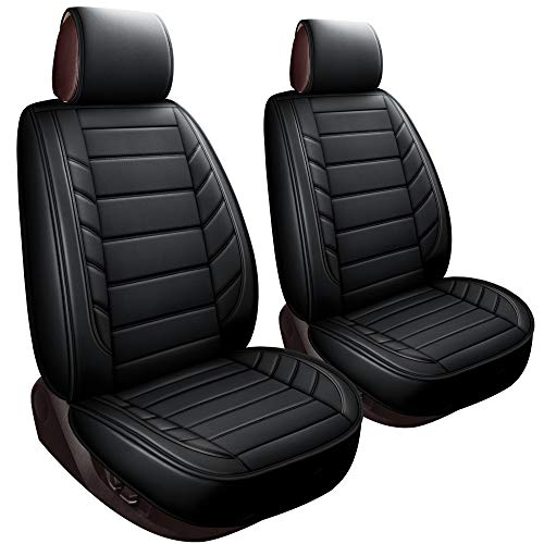 LUCKYMAN CLUB 2 Front Driver Seat Covers Fit Most Sedan