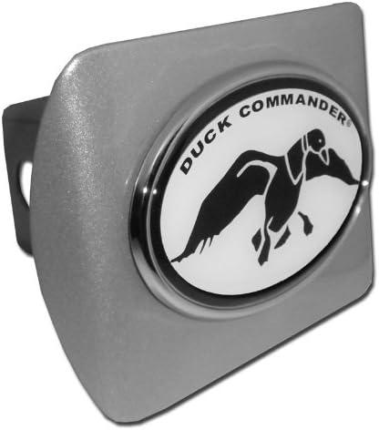 Oval Plastic Black Hitch Cover Elektroplate Duck Commander