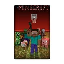 Ipad Mini/Mini 2/Mini 3 Game Minecraft Case, Custom Ipad Mini/Mini 2/Mini 3 Case Cover TPU Rubber Design By [Shella Smith]
