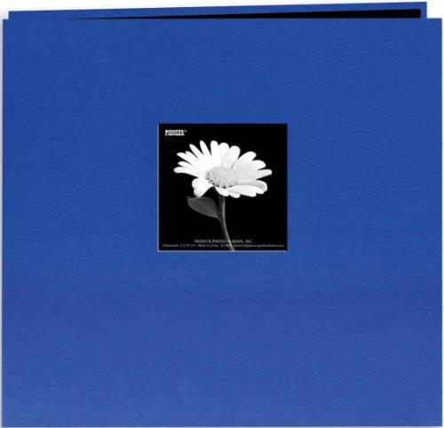 over Post Bound Album 8x8-Cobalt Blue ()